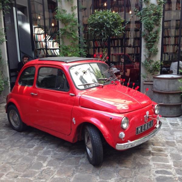 メルシーの車